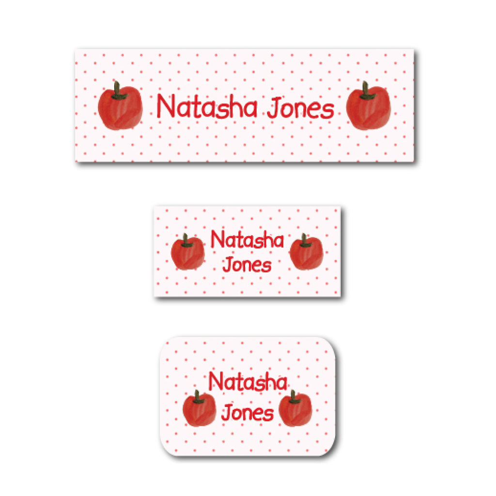 Sweet apples name labels