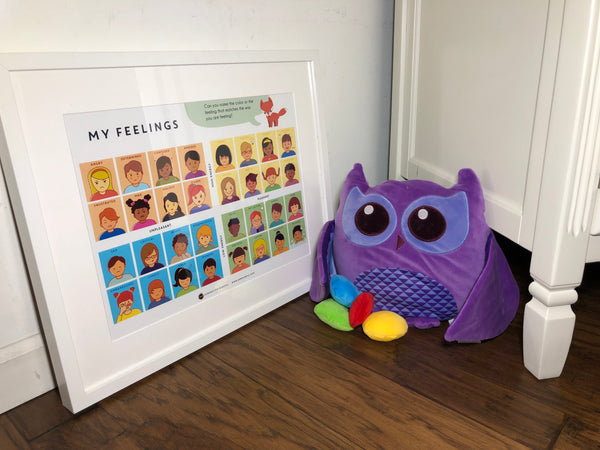 SnuggleBuddies Plush Owl and Time-In-Toolkit Poster