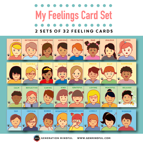 my feelings card set