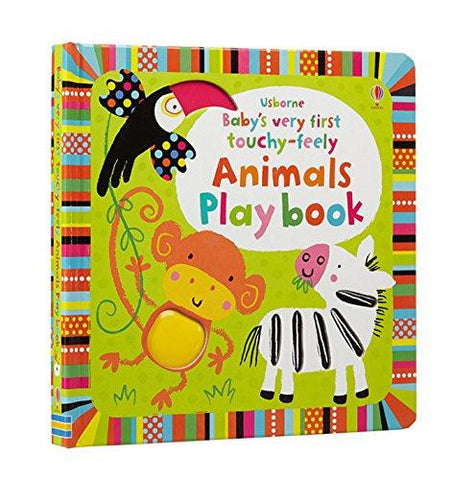 Baby's First Touchy Feely Playbook: Animals