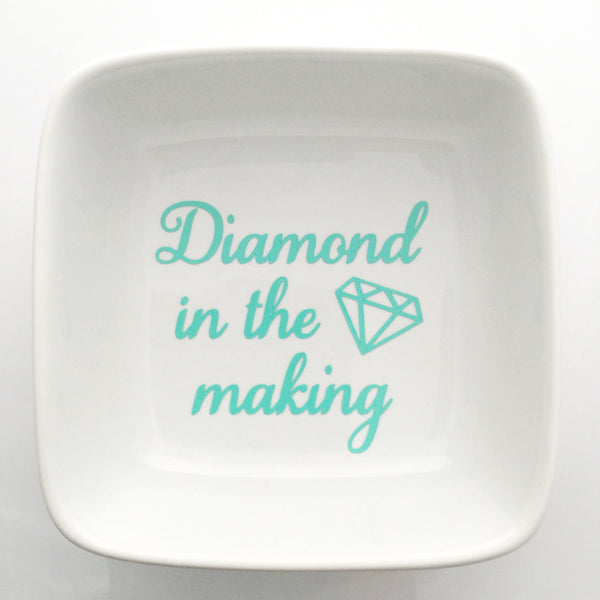 Diamond in the Making ring dish