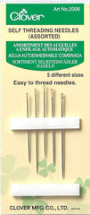 Notions - Clover Self Threading Needles - Assorted Sizes