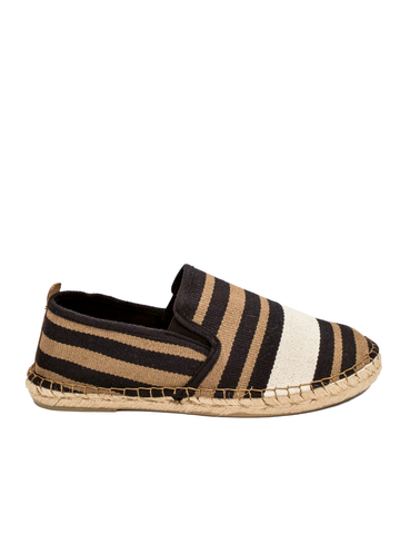 Espadrilles Men-Espadrilles Zebra Dark by Ethical & Sustainable Fashion Brand Mamahuhu