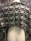 Pashmina Festival Scarf Brown White Spotted