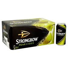 Strongbow Pear Cider Delivery - X4 Pack - Alcohol Delivery