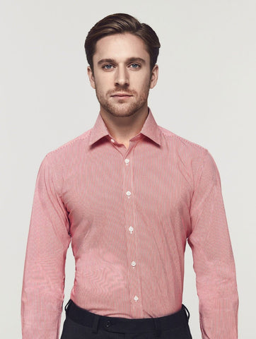 CAVALRY  $59  CHECK & STRIPE SHIRT
