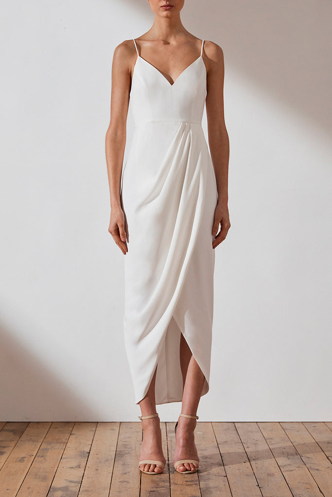 CORE COCKTAIL DRESS - IVORY