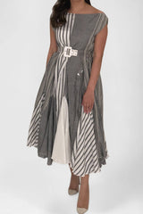 Grey Eid Dress