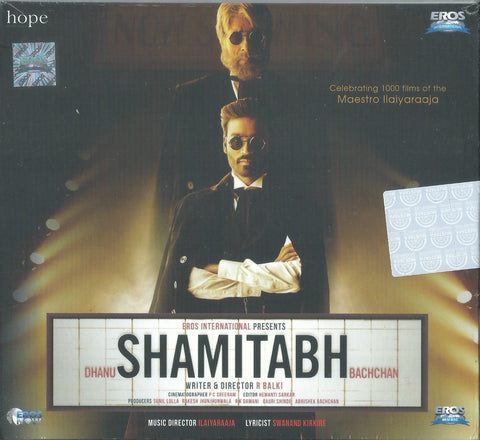 Buy Hindi film audio cd of Shamitabh from greenhivesaudio.com online