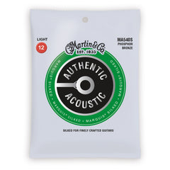 Martin Authentic Acoustic Marquis Silked Strings, MA540S, Light