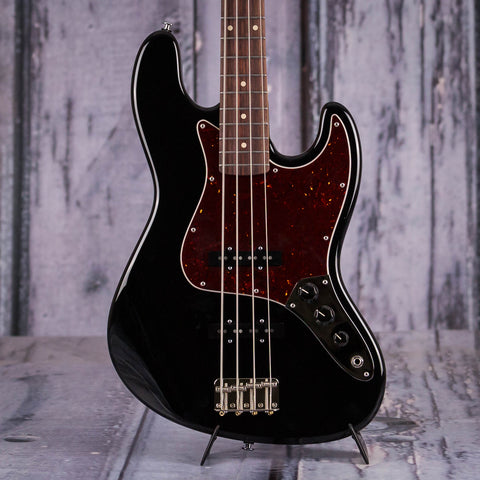 Suhr Classic J Electric Bass, Black, front closeup