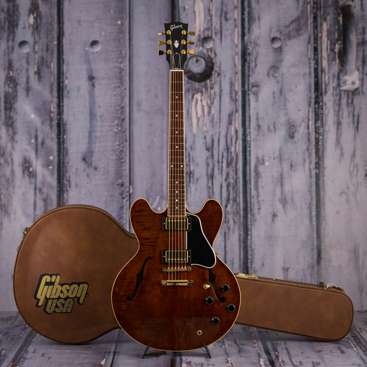 Used Gibson Es 335 For Sale : used gibson es 335 dot 2000 transparent brown for sale replay guitar ~ Vivirlamusica.com Haus und Dekorationen