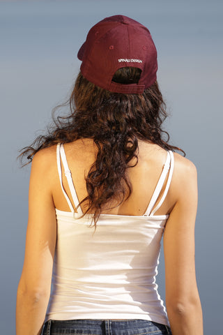 BERRETTO DONNA BURGUNDY - MADE IN FRANCE