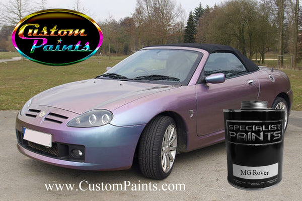 MG Rover Car Colours