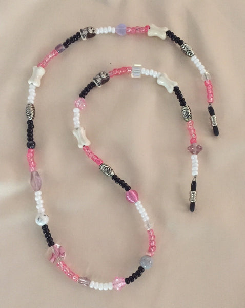 Pink Eyeglass String