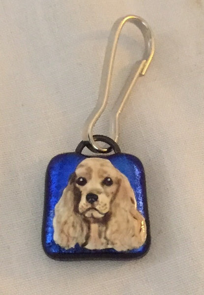 Custom Hand Painted Zipper Pull