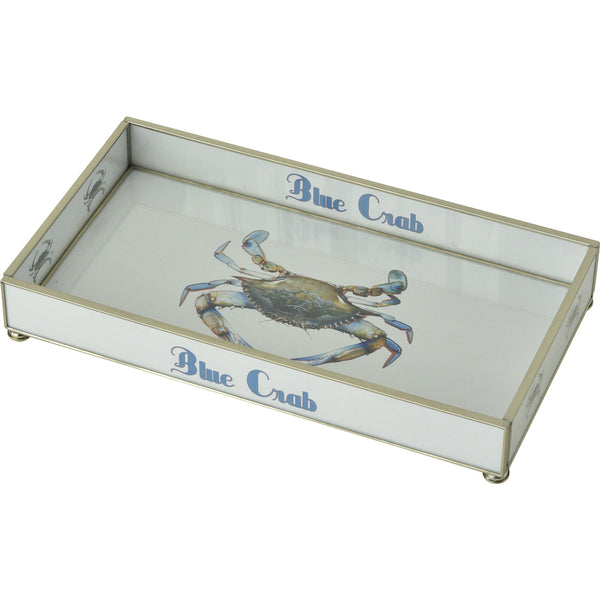 Blue Crab 6 x 12 Tray