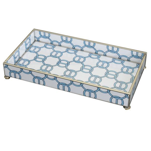 Blue chain 6 x 12 tray