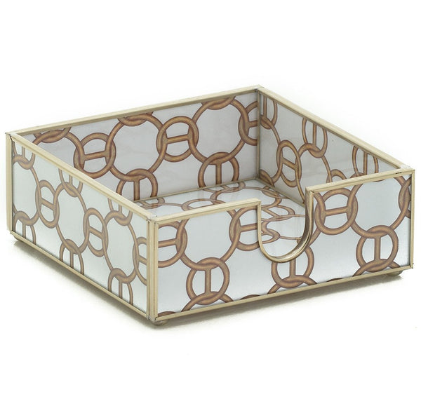 Brown Chain Cocktail Napkin Holder