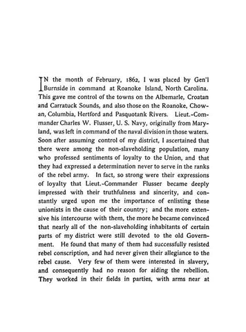 An Account Of The Assassination Of Loyal Citizens Of North Carolina, For Having Served In The Union Army, Which Took Place At Kingston In The Months Of February And March, 1864