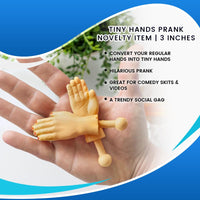 Tiny Hands Prank Novelty Item | 3 Inches