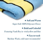 Fallout Vault Boy Lightweight Fleece Throw Blanket | 45 x 60 Inches