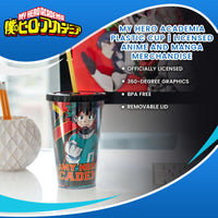 My Hero Academia Plastic Cup | Licensed Anime And Manga merchandise