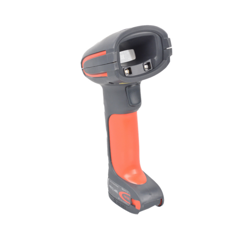Granit™ 1911i Industrial Scanner~Color: Red; Interface: Scanner: N/A (Bluetooth), Charge/Comm Base: USB; Range: Extended Range Focus; Scanning Technology: 1D, PDF, 2D; Connection: Cordless