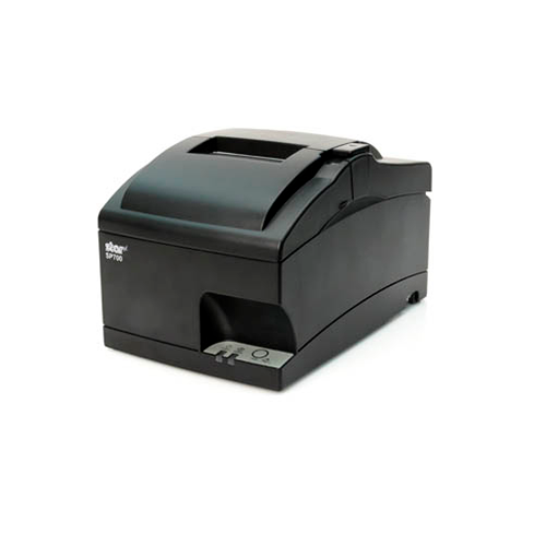 SP742 Kitchen Printer~Exit Option/Optional Features: Auto-Cutter, No Internal Rewinder; Interface Options: Ethernet / USB; Optional Features: CloudPRNT; Color: Gray; Optional Features: N/A