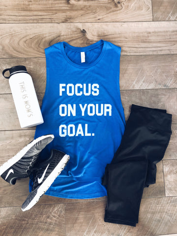Focus on your goal muscle tank - Jane Avenue