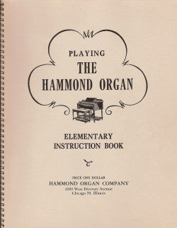 Playing the Hammond Organ