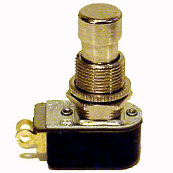 Preamp pedal switch (push button) SPST for Leslie Speaker