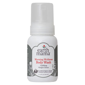 Earth Mama, Gel de Baño, Jengibre Cítrico, 160ml