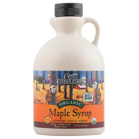 Coombs Family Farms, Miel de Maple Orgánica, Grado A Obscura (antes Grado B) 946 ml