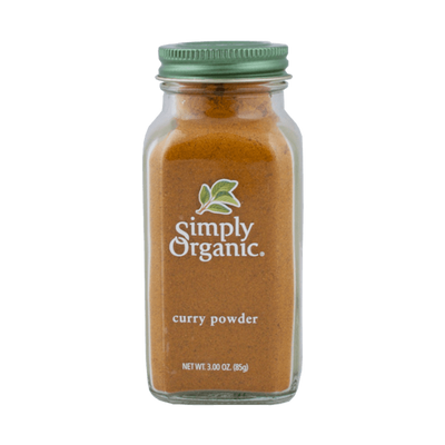 Simply Organic, Curry Orgánico, 85g