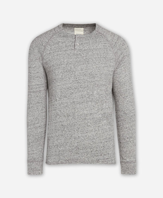 Eagle Rock Henley - Heather Grey