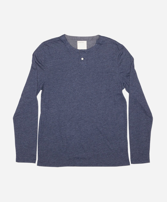 Hachiko Henley - Heather Navy