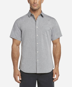 Short Sleeve Oxford Shirt - Black