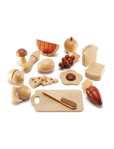 TC9001 | Fruit Set 18 pcs (Red Wood)