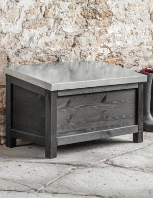 Outdoor Spruce Storage Boxes In A Choice Of Sizes