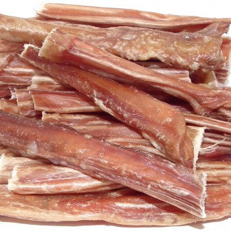 Bullwrinkles bully stick dog treats made with beef pizzle