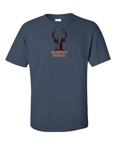 BuckStruck Outdoors Logo - Short sleeve t-shirt - BuckStruck Outdoors