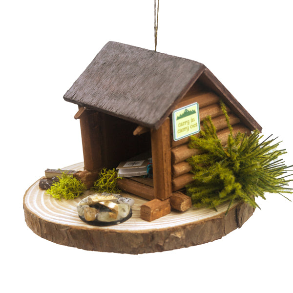 Lean-to Ornament