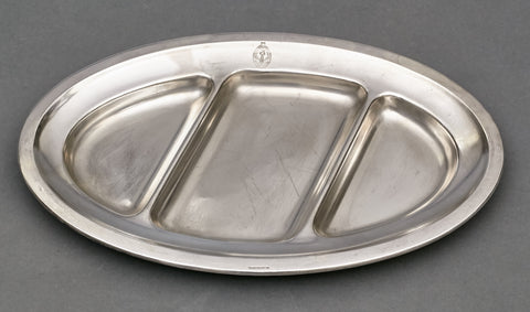 Large Silver Plated Serving Dish from the Platterhof Grouping