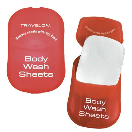 Toiletry Sheets Body Wash (50 sheets)