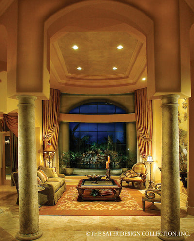 Ristano Home Plan Living Room View #6939