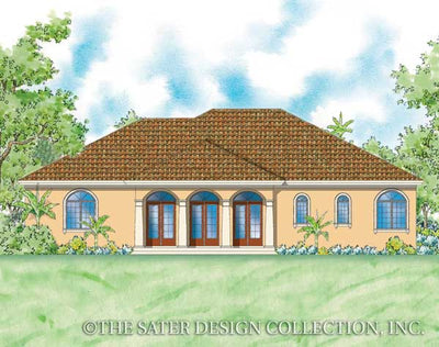Mezzina-Rear Elevation-Plan #8073