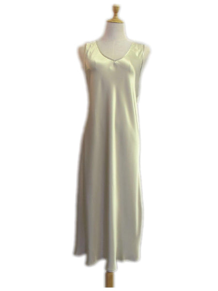 Champagne Fleur Slip - No Embroidery, [product type], Lullaby New Zealand