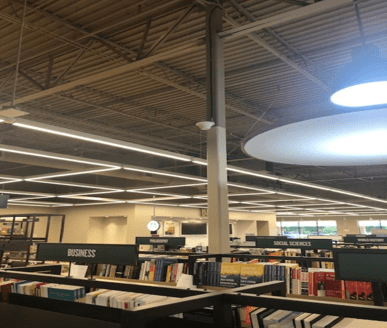 Entire bookstore needed a working cellular signal