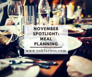 November Spotlight: Meal Planning